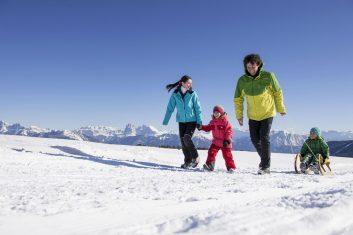 Winter mit der Familie genießen